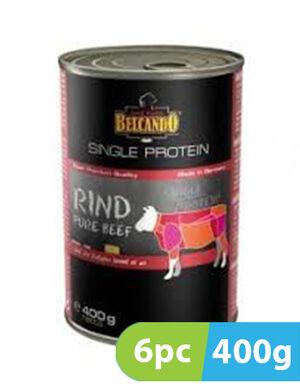Belcando  Single Protein Beef 6pc x 400g