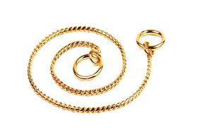 Brass Snake chain Gold 1.8mm x 35cm