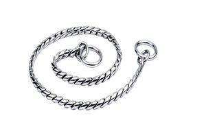 Brass Snake Chain Silver 5.5mm x 60cm
