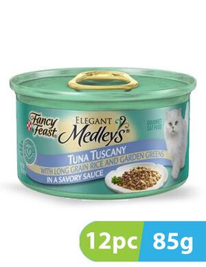 Purina Fancy Feast Medleys Tuna Tuscany 12pc x 85g
