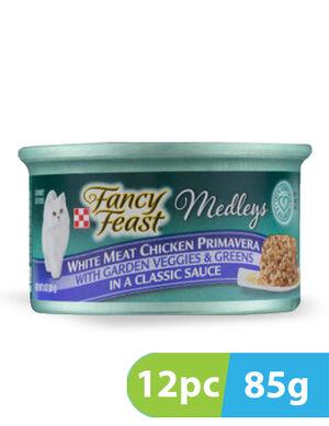 Purina Fancy Feast Medleys Chicken Primavera 12pc x 85g -  Cats product