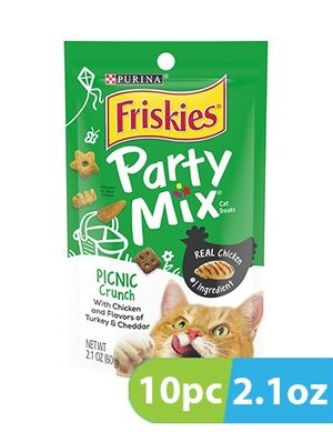 Purina Friskies Party Mix Picnic 10pc x 2.1oz -  Cats product