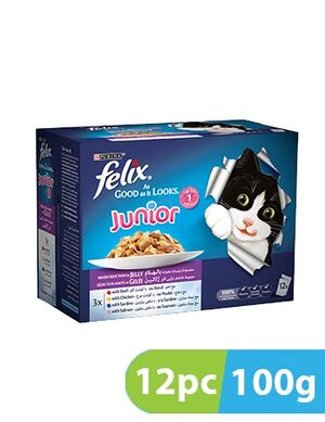 Purina FELIX JNR AGAIL GiJMVChkn 12pc x 100g