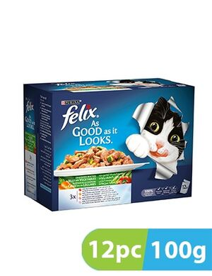 Purina Felix Agail GiJ MVBf&Crt19 12pc x 100g
