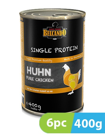 Belcando Single Protein Chicken 6pc x 400g
