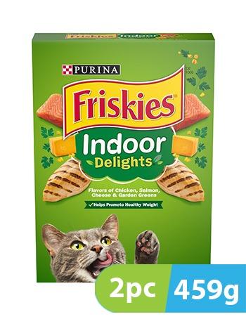 Purina Friskies Indoor Delights Cat Food 2pc x 459g