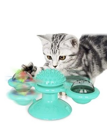 Rotate Windmill Cat Toy