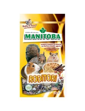 Manitoba Rodents Complete Food 1kg