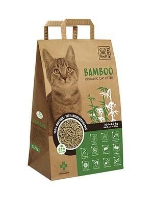 M-Pets Bamboo Organic Cat litter 4.2kg