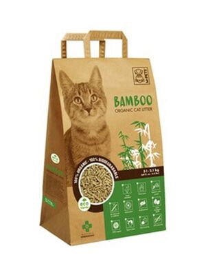 M-Pets Bamboo Organic Cat litter 2.1kg -  Cats product
