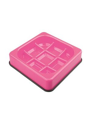 M-Pets Waffle Anti- Scope Bowl 1500ml
