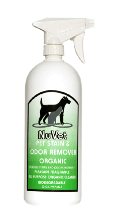 NuVet Pet Stain & Odor Remover Organic 960ml