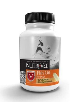 Nutri Vet Fish Oil for Dogs 100 Soft gels