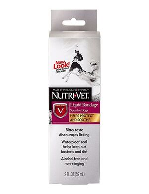 Nutri Vet Liquid Bandage Spray for Dogs 59ml