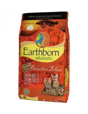 Earthborn Holistic Primitive Feline  Cat Food 6kg