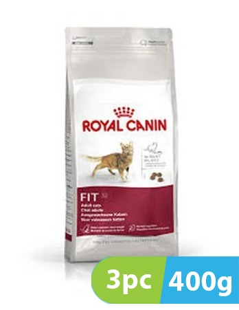 3pc x 400g Royal Canin Regular Fit