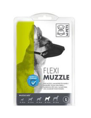 M-Pets Flexi muzzle large