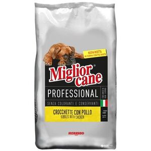 Migliorcane Professional Crocchette Con Pollo Kibbles With Chicken Adult 15kg