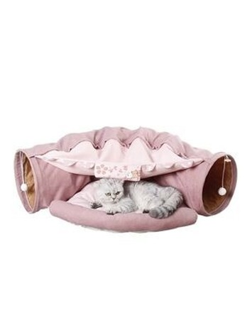 Cat Tunnel Interactive Tube Pink
