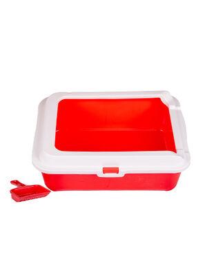 Cat Litter Box Red