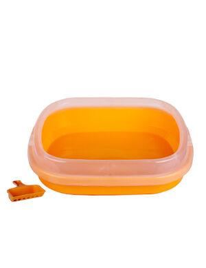 Cat Litter Box Orange