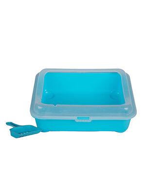 Cat litter box Blue