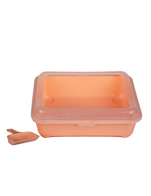 Cat litter box Pink