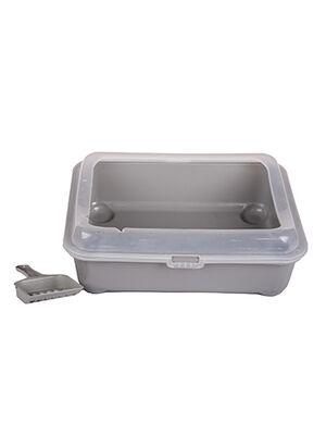 Cat Litter Box Gray