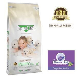 Bonacibo Puppy Lamb Dry Food 3kg