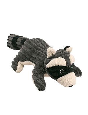 Plush Medium Squeaky Raccoon Toy