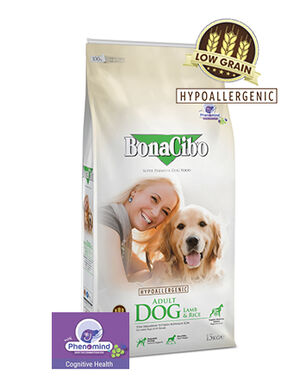 BonaCibo Adult Dog Lamb Dry Food 15kg