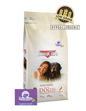 BonaCibo Adult Dog High Energy Dry Food 4kg