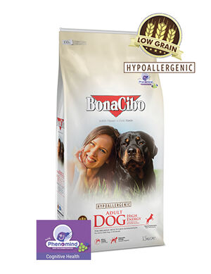BonaCibo Adult Dog High Energy Dry Food 15kg