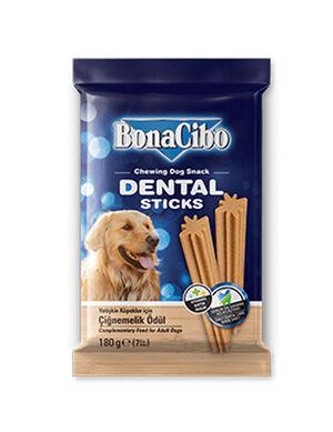 Bonacibo Dental Sticks Chewing Dog Snacks 7 Sticks, 180g