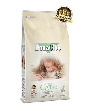 BonaCibo Adult Cat Lamb Dry Food 2kg