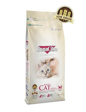 BonaCibo Adult Cat Chicken Dry Food 2kg
