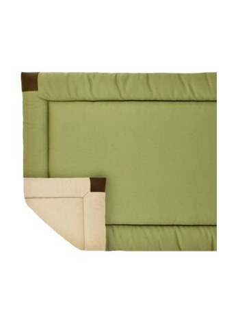 Velboa Bed Sage & Cream Large