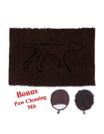 Wet Paws Mat w/Bonus Mitt Large