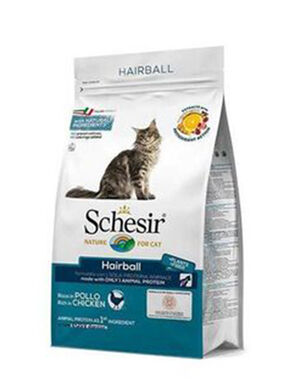 Schesir Adult Cat Dry Food Hairball 1.5kg