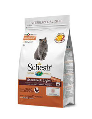 Schesir Cat Dry Food Sterilized Adult Cat 1.5kg