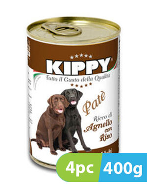 Kippy Lamb & Rice 4pc x 400g