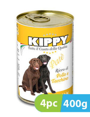 Kippy Chicken & Turkey 4pc x 400g