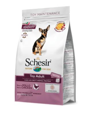 Schesir Toy Adult Dog Dry Food Chicken 2kg