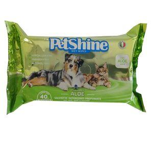 Pet Shine Wet Wipes Aloe Fragrance 40pcs