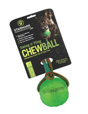Starmark Swing & Fling Chew Ball Large