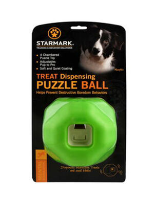 Starmark Interactive Puzzle Ball -  Dogs product