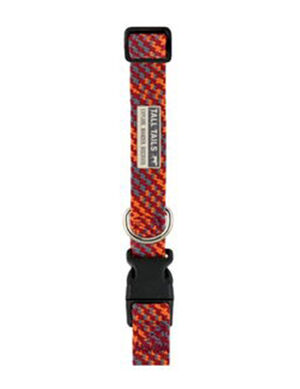 Tall Tails Braided Collar  Multicolor Small