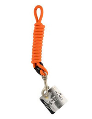 Tall Tails Rope Leash Orange Medium