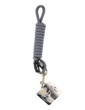 Tall Tails Rope Leash Charcoal Medium