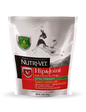 Nutri-Vet Hip & Joint Soft Chew for Dogs 120g